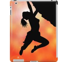 bouldering flare iPad Case/Skin