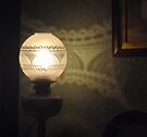 Lovely Lamp, Pretty Pattern by KazM