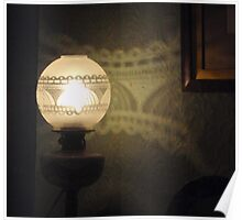 Lovely Lamp, Pretty Pattern Poster