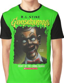 Goosebumps - Night of The Living Dummy Graphic T-Shirt