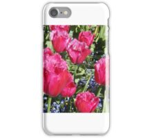 Smiling Tulips - Floral Collection (3) iPhone Case/Skin