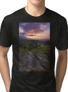 Norland moor sunset Tri-blend T-Shirt