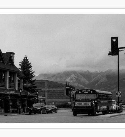 Jasper City Bus Sticker