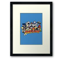 Because it's Awesome! Framed Print