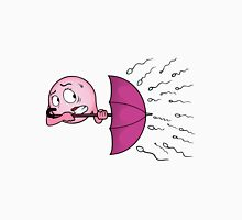 Egg cell with umbrella Womens Fitted T-Shirt