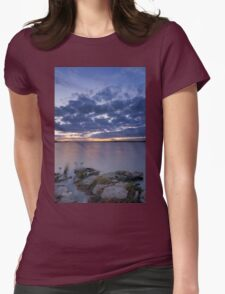 Tranquil Senset Womens Fitted T-Shirt