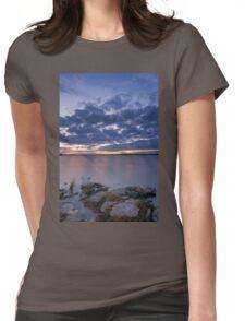 Tranquil Senset Womens Fitted T-Shirt