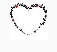 Fluttering Heart Unisex T-Shirt