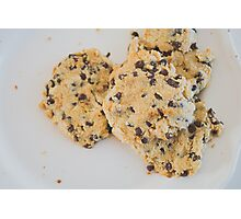 Delightful Chocolate Chip Cookies Photographic Print