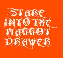 Stare into the Maggot Drawer Kids Tee