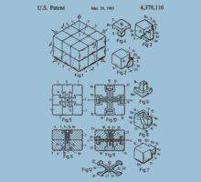 rubik's cube Patent 1983 Kids Clothes