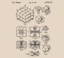 rubik's cube Patent 1983 by chris2766