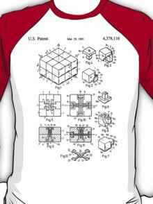 rubik's cube Patent 1983 T-Shirt