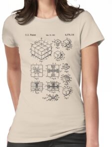 puzzle Patent 1983 Womens Fitted T-Shirt