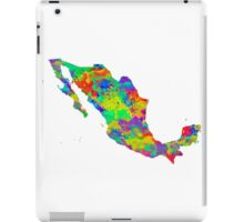 Mexico Watercolor Map iPad Case/Skin