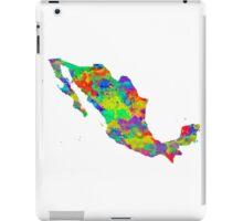 Mexico Watercolor Map iPad Case/Skin