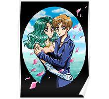 Sea and Sky - Haruka & Michiru Poster