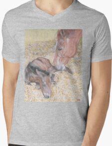 A MOTHER'S LOVE Mens V-Neck T-Shirt