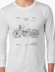 Motorcycle Patent 1925 Long Sleeve T-Shirt