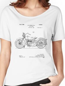 Motorcycle Patent 1925 Women's Relaxed Fit T-Shirt
