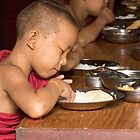 Novice Monk by Marylou Badeaux