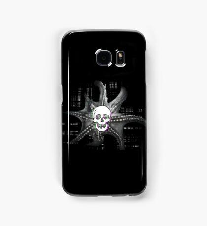 Digital Octopus Skull Samsung Galaxy Case/Skin