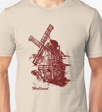 Old Holland windmill Unisex T-Shirt