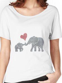 Elephant Hugs Women's Relaxed Fit T-Shirt