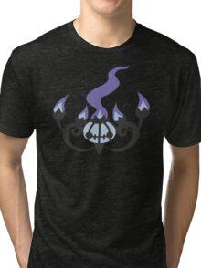 Chandelure Minimalist Tri-blend T-Shirt
