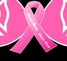 Firefighter Breast Cancer Awareness Sticker