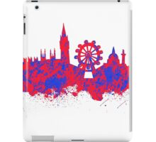 Watercolor art of the skyline of London iPad Case/Skin