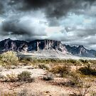 Superstitions Peaks by George Lenz