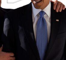 Joe and Barack Sticker