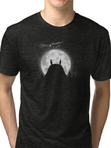 Forest spirit night Tri-blend T-Shirt