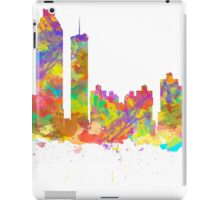 Watercolor art print of the skyline of Atlanta Georgia USA iPad Case/Skin