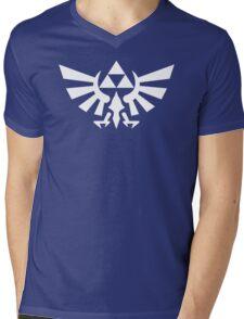 Zelda Breath of the Wild Mens V-Neck T-Shirt