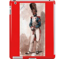 Napoleon Bonaparte 's Imperial Guard iPad Case/Skin