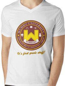 Wumbology Univiversity Mens V-Neck T-Shirt
