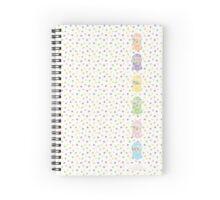 Bubble Gum Machine Spiral Notebook Spiral Notebook