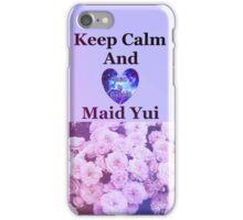 Keep Calm Maid Yui iPhone Case/Skin