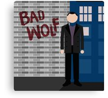 The Fantastic Ninth Doctor Canvas Print