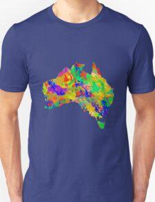 Australia Watercolor Map T-Shirt