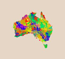 Australia Watercolor Map Unisex T-Shirt