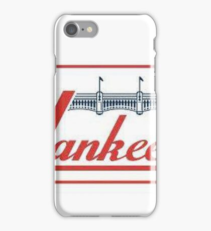 Yankees Vintage Throwback Baseball Logo iPhone Case/Skin
