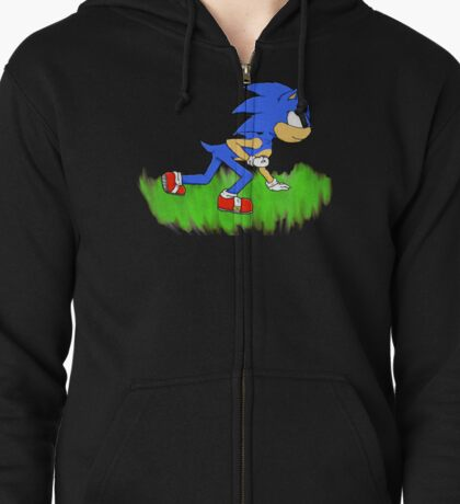 Sonic the Hedgehog Zipped Hoodie