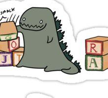 Gojira Kawaii Sticker