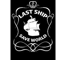 Last Ship Save World Photographic Print