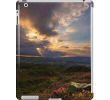 Norland moor sunset iPad Case/Skin