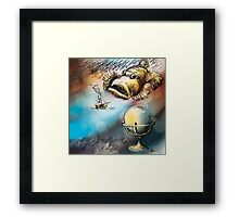 Dangerous Meetings Framed Print