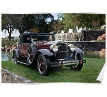 1928 Packard 526 Convertible Coupe I Poster
